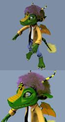 Jeremy the monster by Dudymas