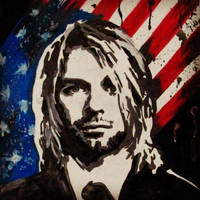 Kurt Cobain by ChristinDeath
