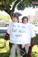 Get Along Shirt by Adnarimification