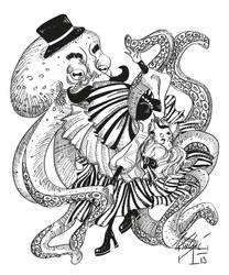 Dancing with the Kraken! by Idolum