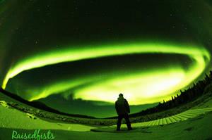 Aurora Borealis by RaisedFists