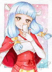 #016 Mitama by lunatic-neko