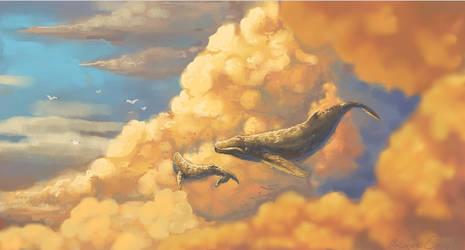 Sky Giants by Blubird101