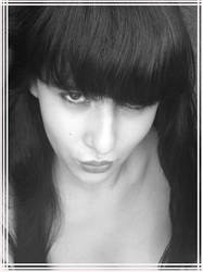 B and W ID by Goddess-Tranquility
