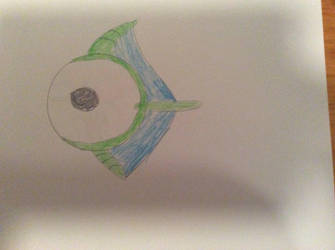 Subnautica Eye eye by themutantlizard
