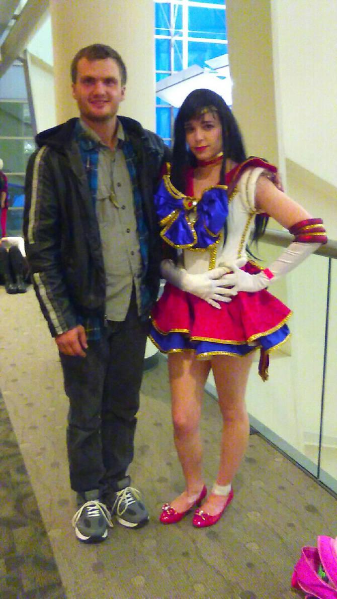 Kyle Brackman and Sailor Mars by KyleBrackman