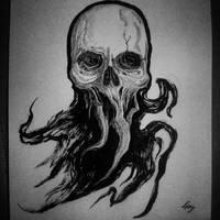 Inktober #9 by antiquatedremains
