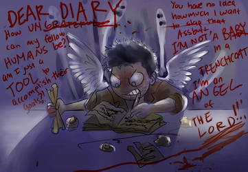 If Castiel had a Diary... by amidarosa