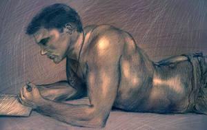 Dean Winchester Figure Study by amidarosa