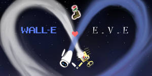 Walle+Eve by MelonPanGya