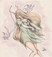 Aida Watercolor Version by JulSarmiento