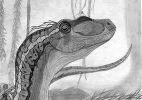 Velociraptor by paintgirl68