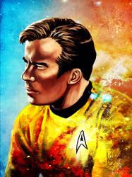 Starship Captain by ladystarsocks