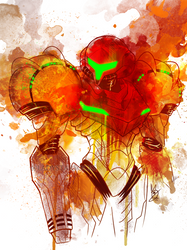 Galactic Warrior by ladystarsocks