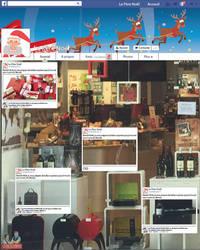 Vitrine de Noel Boutique Cadeau Maestro 2 by NathanSvl