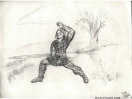 Scottish Highlander by dchmelik