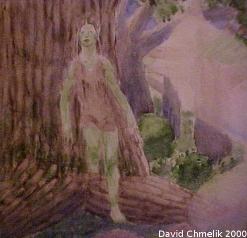 Faery Grove: dryad closeup by dchmelik