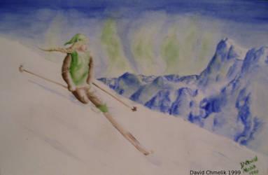 Marian Skiing by dchmelik