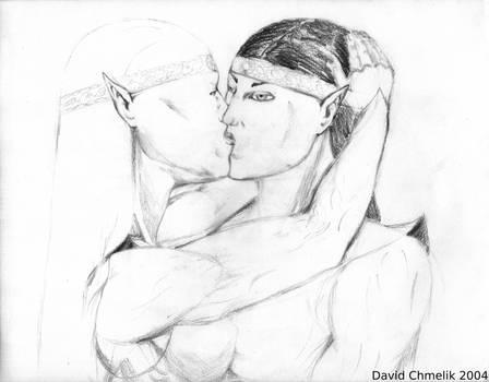 Marian, Darwin Kiss by dchmelik
