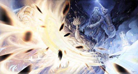 Wizardry Chess Battle by Noxypia