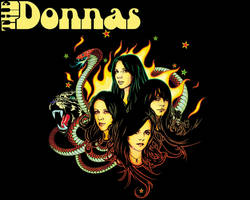 The Donnas by kiah0425
