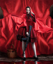 Alternative Little Red Riding Hood by Lady-I-Hellsing
