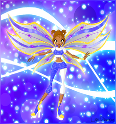 Lucy, fairy of electricity - Believix by LadyDiabolika