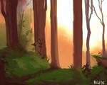 Landscape Practice by aignavus