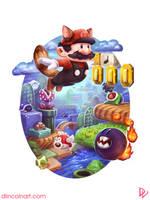 Super Mario Bros. 3 by dlincoln83