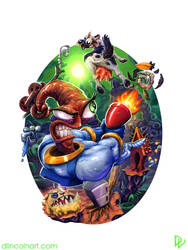 Earthworm Jim by dlincoln83