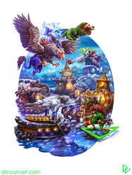 Warcraft 2 by dlincoln83