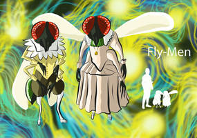 Fly-Men by Spearhafoc