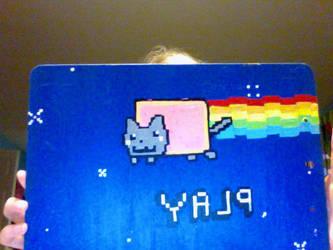 nyan cat clipboard by tofu-bot