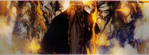 Yamamoto [Bleach]- Facebook Cover by TotoroGraphic
