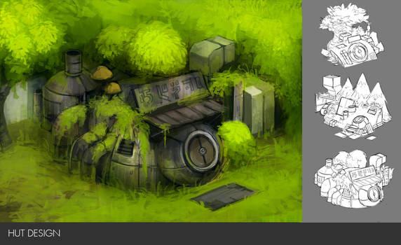 Hut Design by Minyi