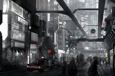 City matte paint by Minyi