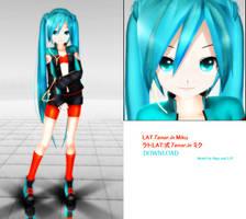 .:DL Series:. LAT Tenor.in Miku by MMDAnimatio357