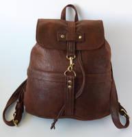 A hobbit's backpack by LillysWorkshop