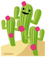 cactus girl by sophistiblack