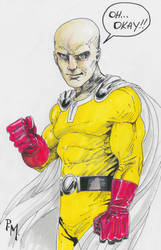 One Punch Man by PM-Graphix