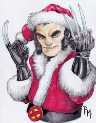 Santa Claws by PM-Graphix