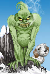 GRINCH Color by PM-Graphix
