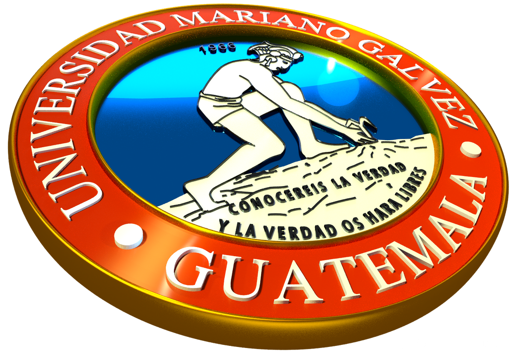 3d Logo University Mariano Galvez Of Guatemala By Firedpyro On