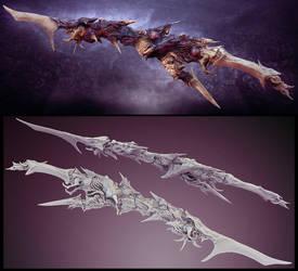 Nightmare sword by zerojs