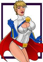 Power Girl by mrfuzzynutz