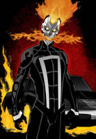 The Ghost Rider by mrfuzzynutz