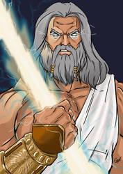 The Mighty Zeus by mrfuzzynutz