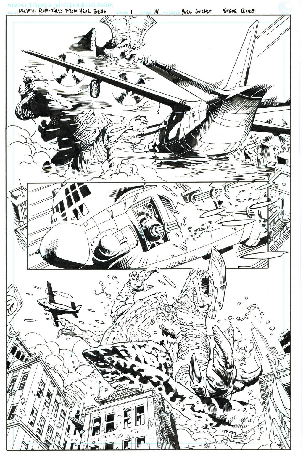 Pacific Rim: Tales From Year Zero,  page 14 by SteveBird