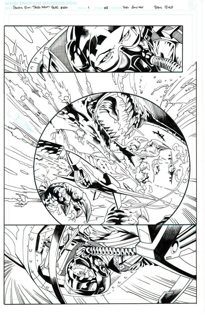 Pacific Rim: Tales From Year Zero,  page 23 by SteveBird