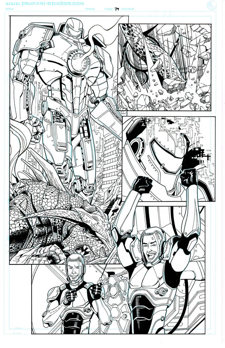 Pacific Rim: Tales From Year Zero,  page 79 by SteveBird